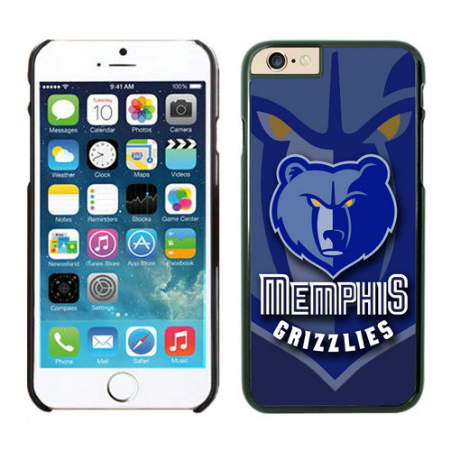 Memphis Grizzlies iPhone 6 Plus Cases Black06