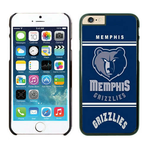 Memphis Grizzlies iPhone 6 Plus Cases Black07
