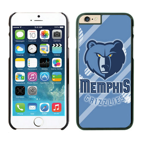 Memphis Grizzlies iPhone 6 Plus Cases Black09