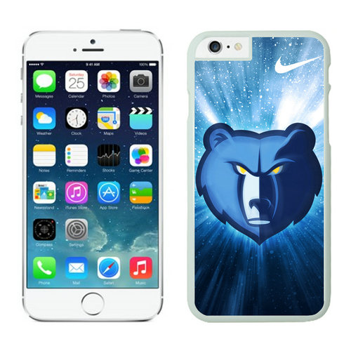 Memphis Grizzlies iPhone 6 Plus Cases White