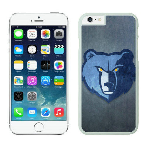 Memphis Grizzlies iPhone 6 Plus Cases White02