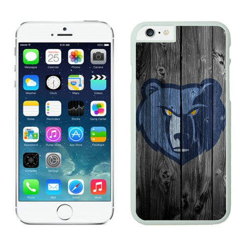 Memphis Grizzlies iPhone 6 Plus Cases White03