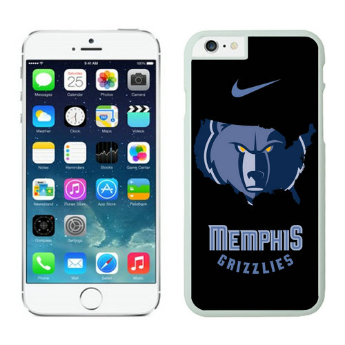 Memphis Grizzlies iPhone 6 Plus Cases White04
