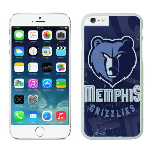 Memphis Grizzlies iPhone 6 Plus Cases White05
