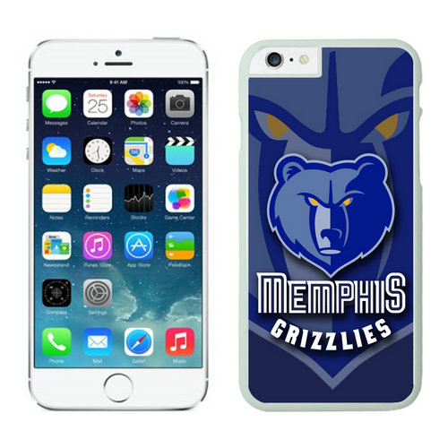 Memphis Grizzlies iPhone 6 Plus Cases White06