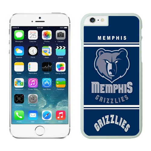 Memphis Grizzlies iPhone 6 Plus Cases White07