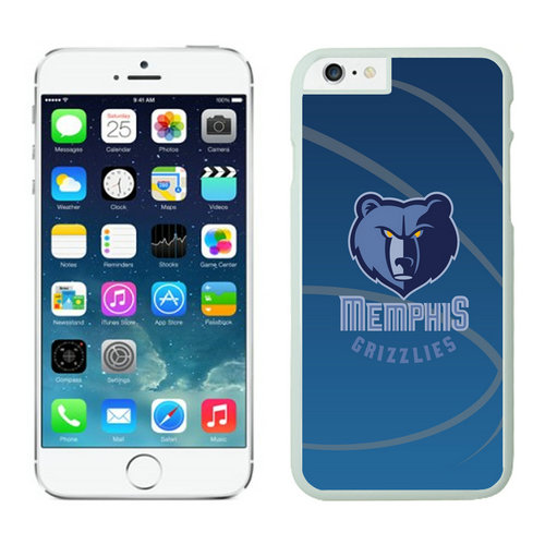 Memphis Grizzlies iPhone 6 Plus Cases White08