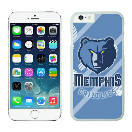 Memphis Grizzlies iPhone 6 Plus Cases White09