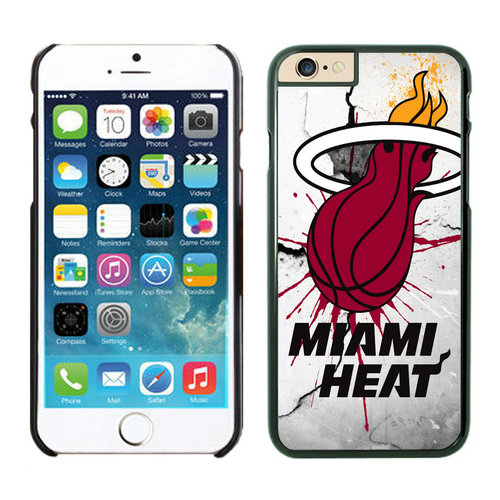 Miami Heat iPhone 6 Plus Cases Black
