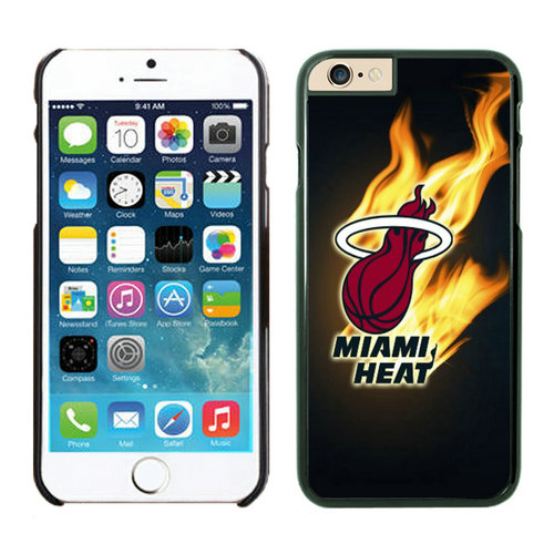 Miami Heat iPhone 6 Plus Cases Black02