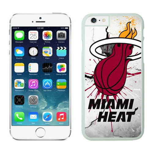 Miami Heat iPhone 6 Plus Cases White