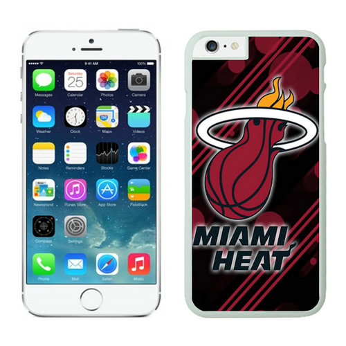 Miami Heat iPhone 6 Plus Cases White07