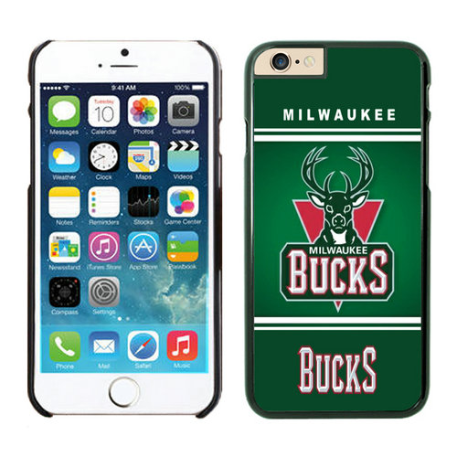 Milwaukee Bucks iPhone 6 Plus Cases Black02