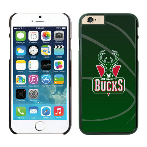 Milwaukee Bucks iPhone 6 Plus Cases Black03