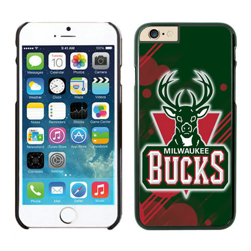 Milwaukee Bucks iPhone 6 Plus Cases Black04