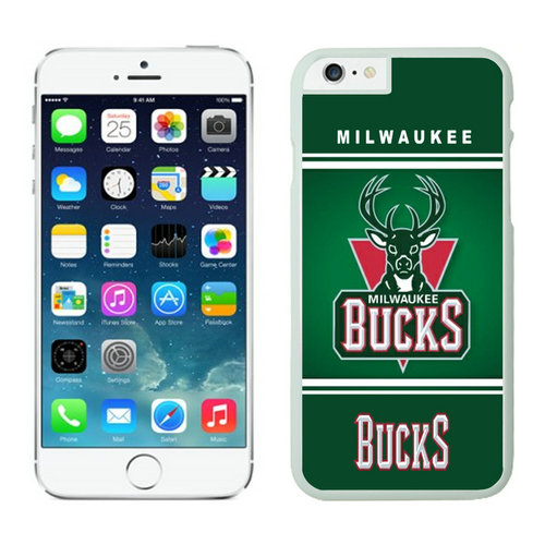 Milwaukee Bucks iPhone 6 Plus Cases White02