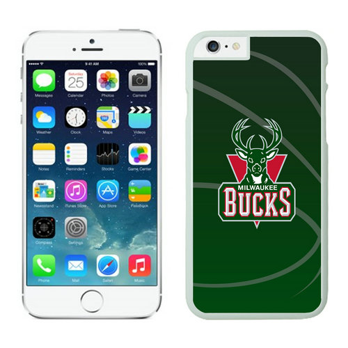 Milwaukee Bucks iPhone 6 Cases White03