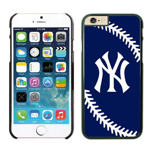 New York Yankees iPhone 6 Cases Black