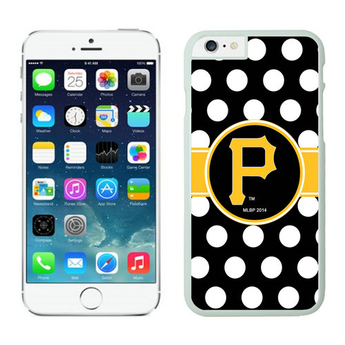 Pittsburgh Pirates iPhone 6 Plus Cases White03
