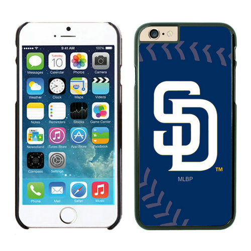 San Diego Padres iPhone 6 Plus Cases Black02