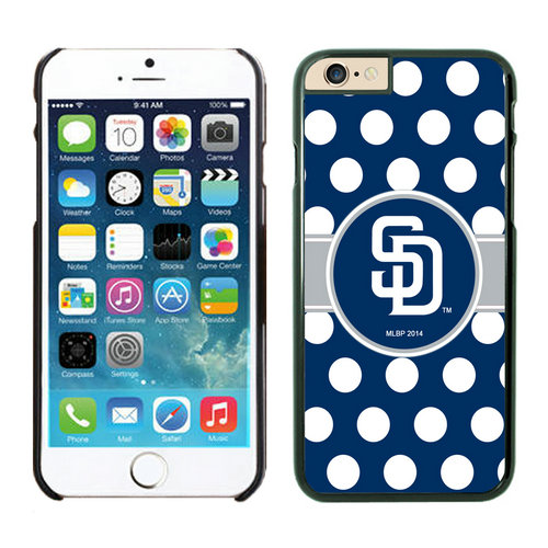 San Diego Padres iPhone 6 Plus Cases Black03