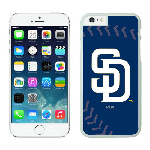 San Diego Padres iPhone 6 Plus Cases White02