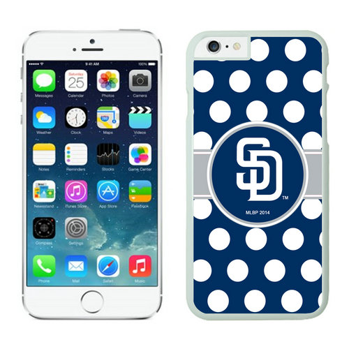 San Diego Padres iPhone 6 Plus Cases White03