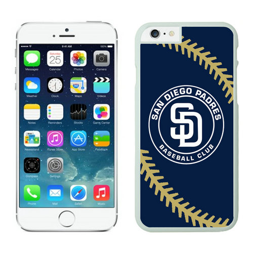 San Diego Padres iPhone 6 Plus Cases White04