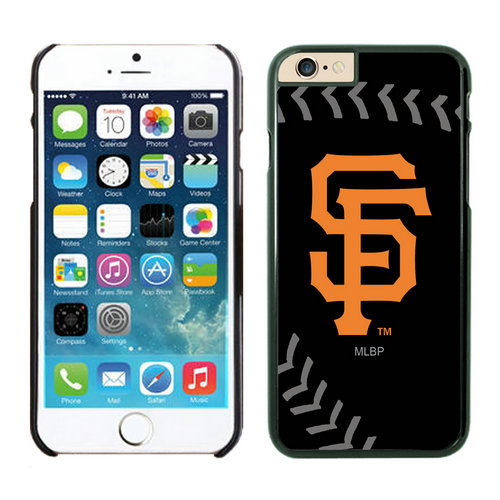 San Francisco Giants iPhone 6 Plus Cases Black02