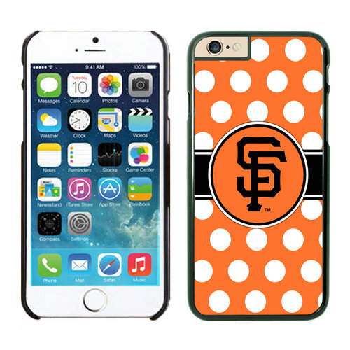 San Francisco Giants iPhone 6 Plus Cases Black03