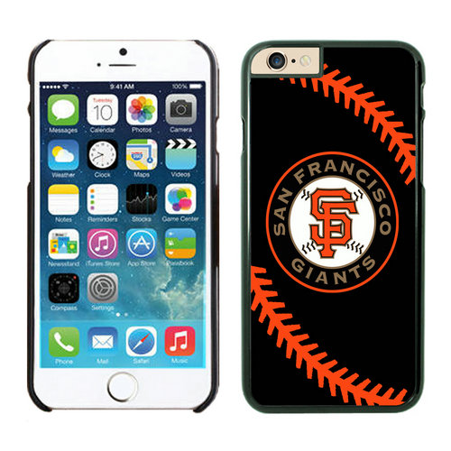 San Francisco Giants iPhone 6 Plus Cases Black04