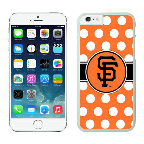 San Francisco Giants iPhone 6 Plus Cases White02