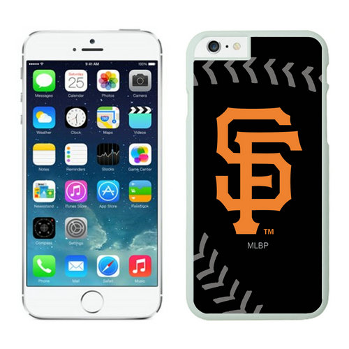 San Francisco Giants iPhone 6 Plus Cases White03