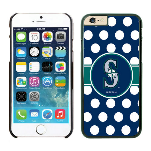 Seattle Mariners iPhone 6 Plus Cases Black02