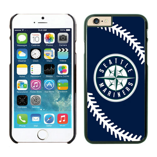 Seattle Mariners iPhone 6 Plus Cases Black03