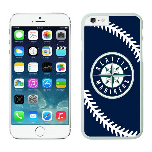 Seattle Mariners iPhone 6 Plus Cases White02