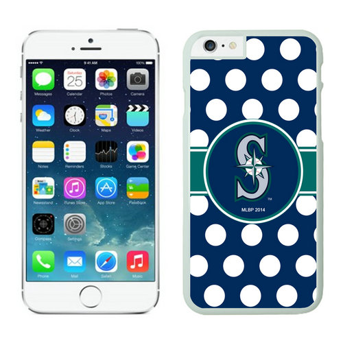 Seattle Mariners iPhone 6 Plus Cases White03