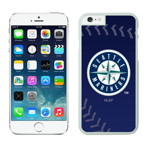 Seattle Mariners iPhone 6 Plus Cases White04