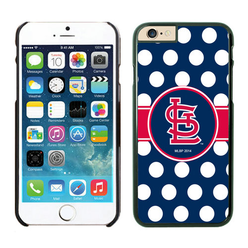 St Louis Cardinals iPhone 6 Plus Cases Black02