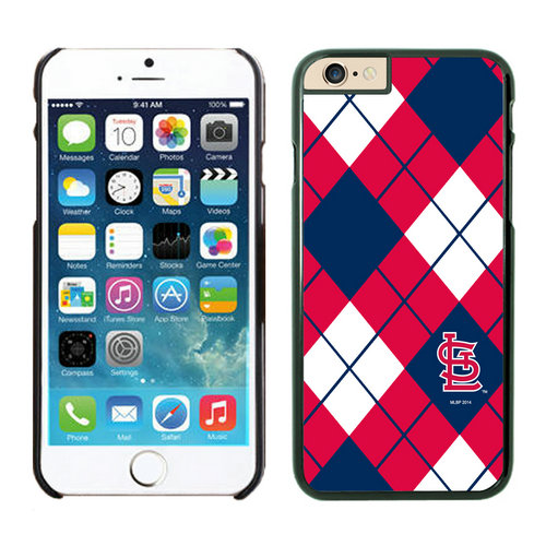 St Louis Cardinals iPhone 6 Plus Cases Black03