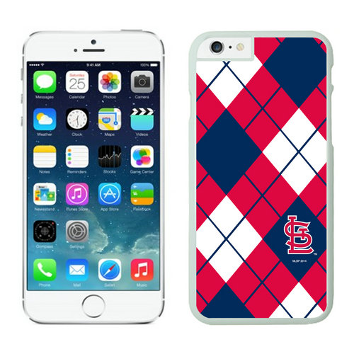St Louis Cardinals iPhone 6 Plus Cases White