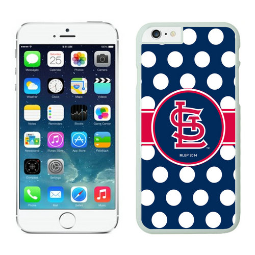 St Louis Cardinals iPhone 6 Plus Cases White02