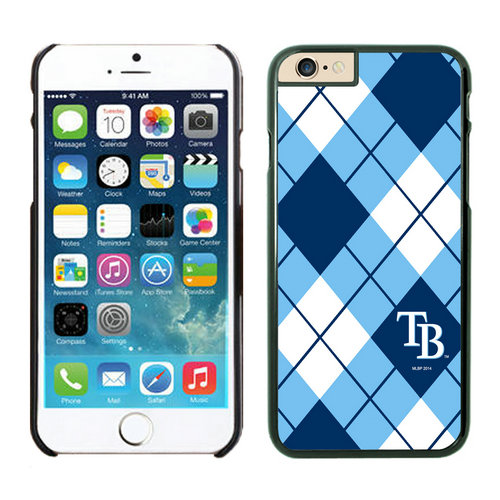 Tampa Bay Rays iPhone 6 Plus Cases Black