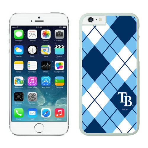 Tampa Bay Rays iPhone 6 Plus Cases White
