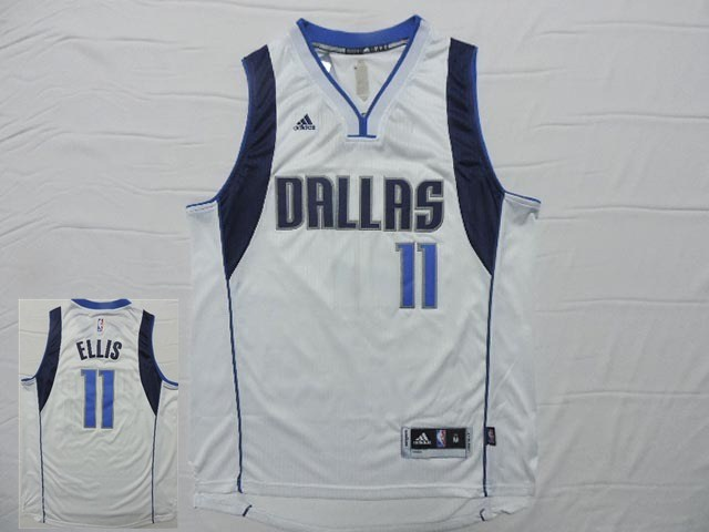 Mavericks 11 Ellis White New Revolution 30 Jersey