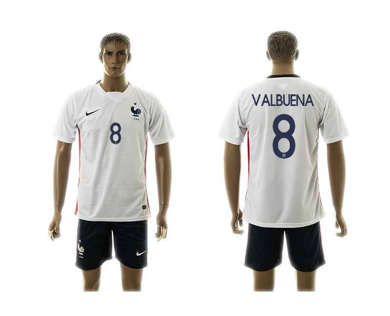 2015-16 France 8 Valbuena Away Jersey