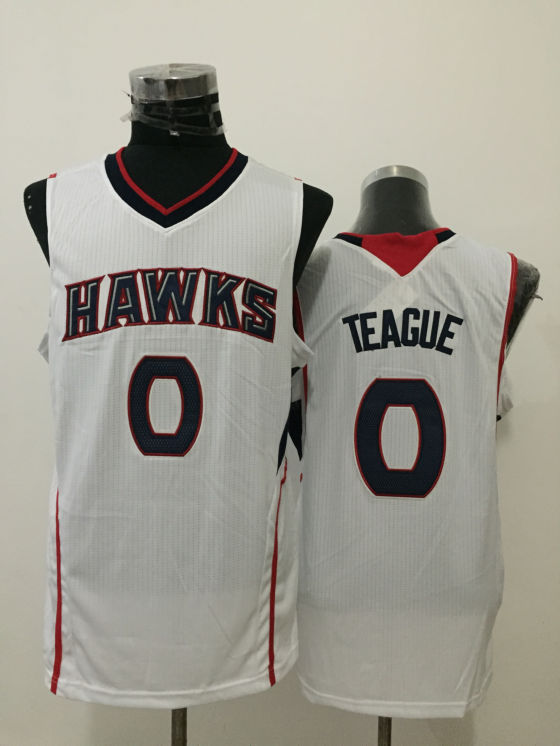 Hawks 0 Jeff Teague White New Revolution 30 Jersey