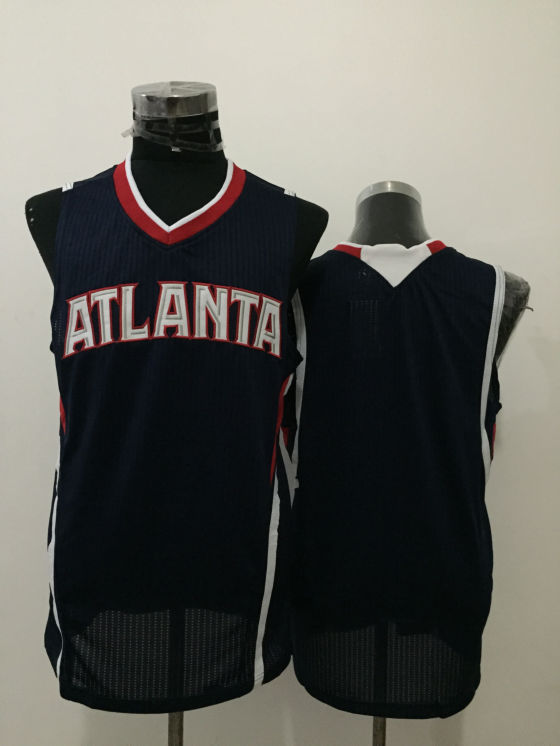 Hawks Navy Blue New Revolution 30 Jersey
