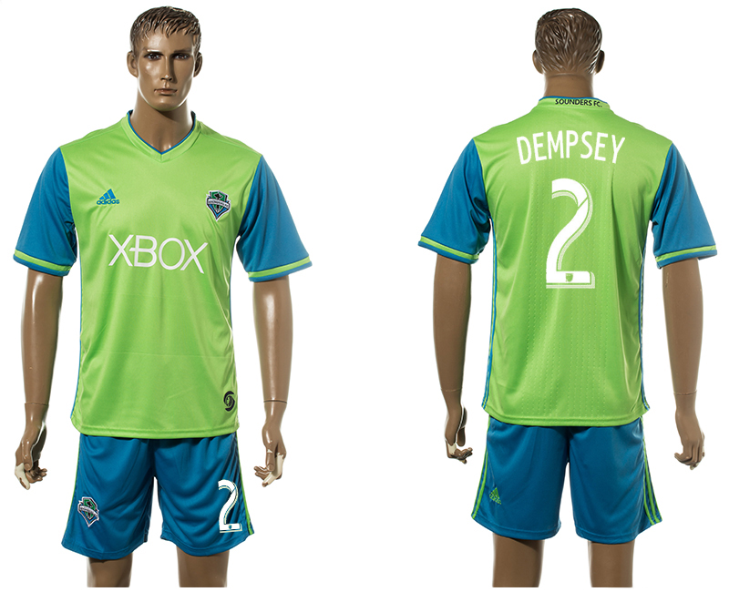 2016-17 Seattle Sounders 2 DEMPSEY Home Jersey