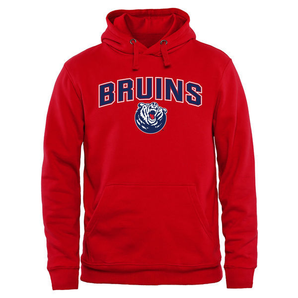 Belmont Bruins Team Logo Red College Pullover Hoodie2